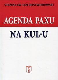 Image of Agenda Paxu na KUL-u - Roztworowski Stanisław Jan