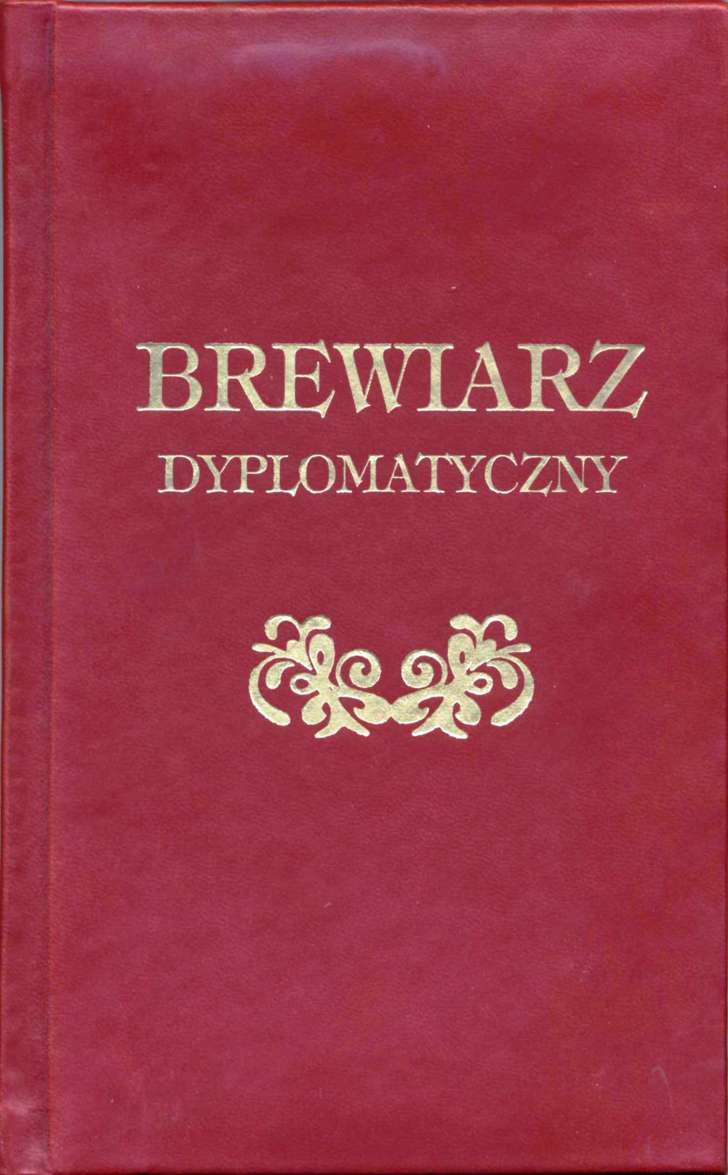 Image of Brewiarz dyplomatyczny - Baltazar Gracjan