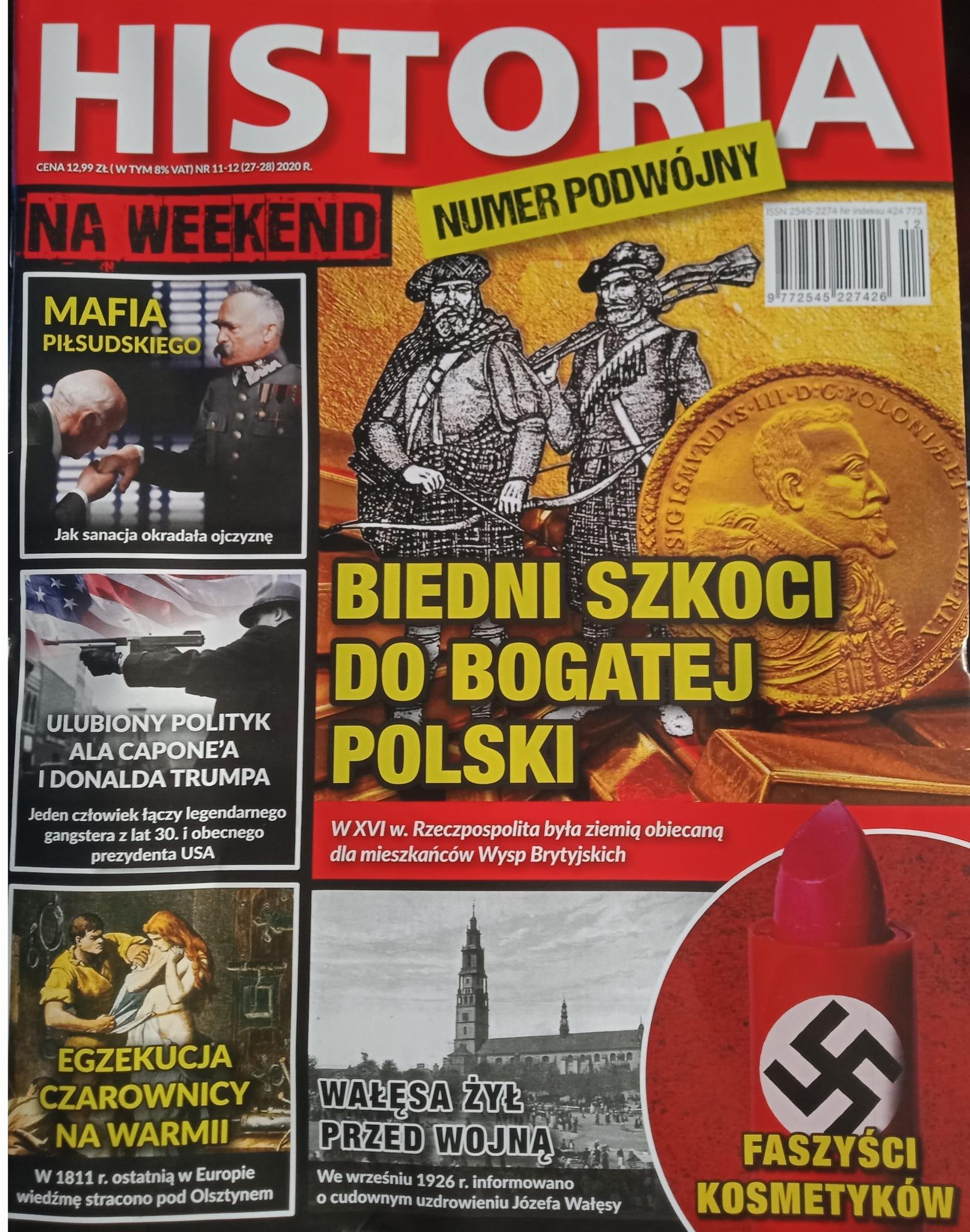 Historia na weekend nr 11-12 (27-28) 2020 r.
