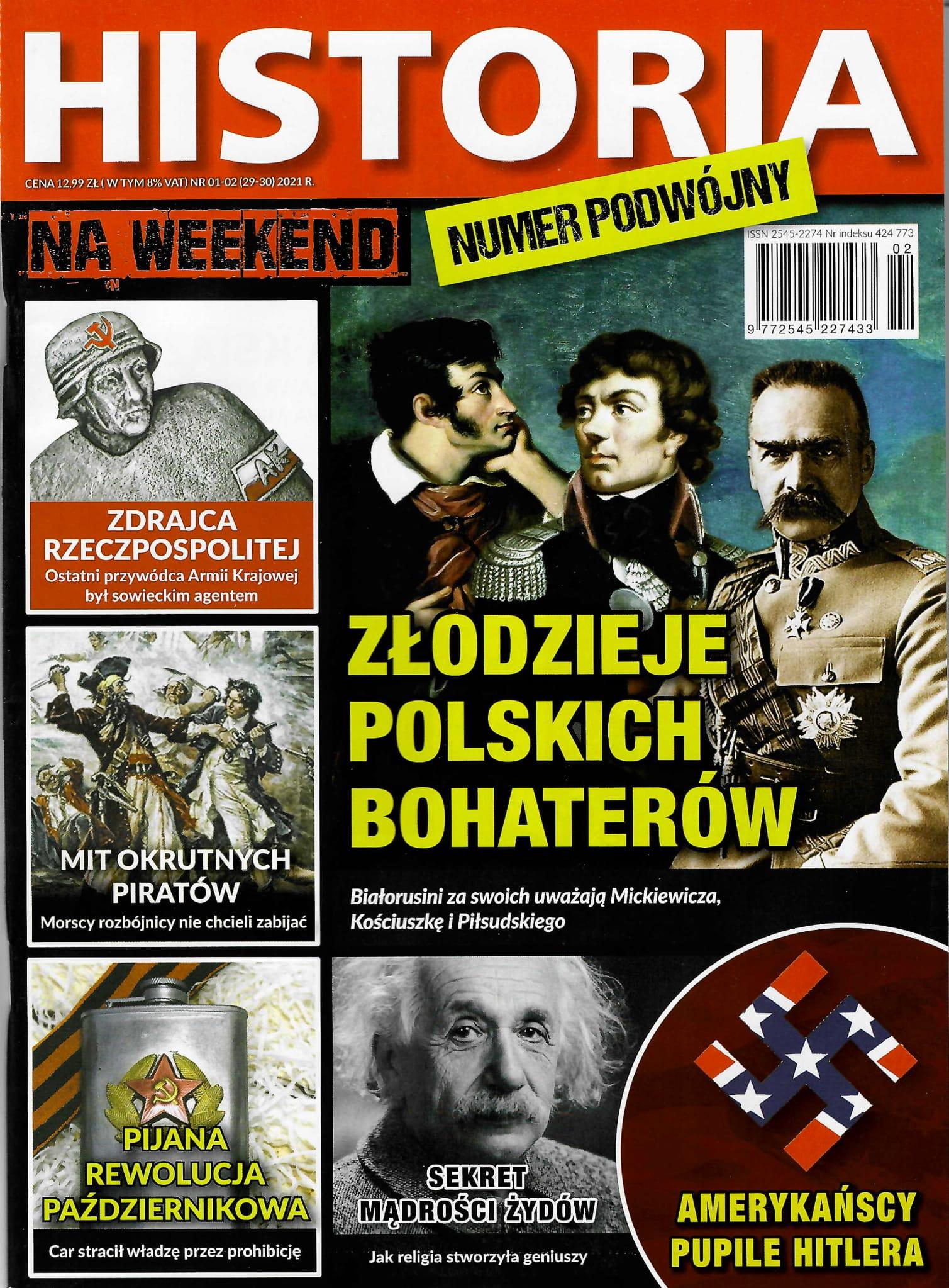 Historia na weekend nr 01-02 (29-30) 2021 r.