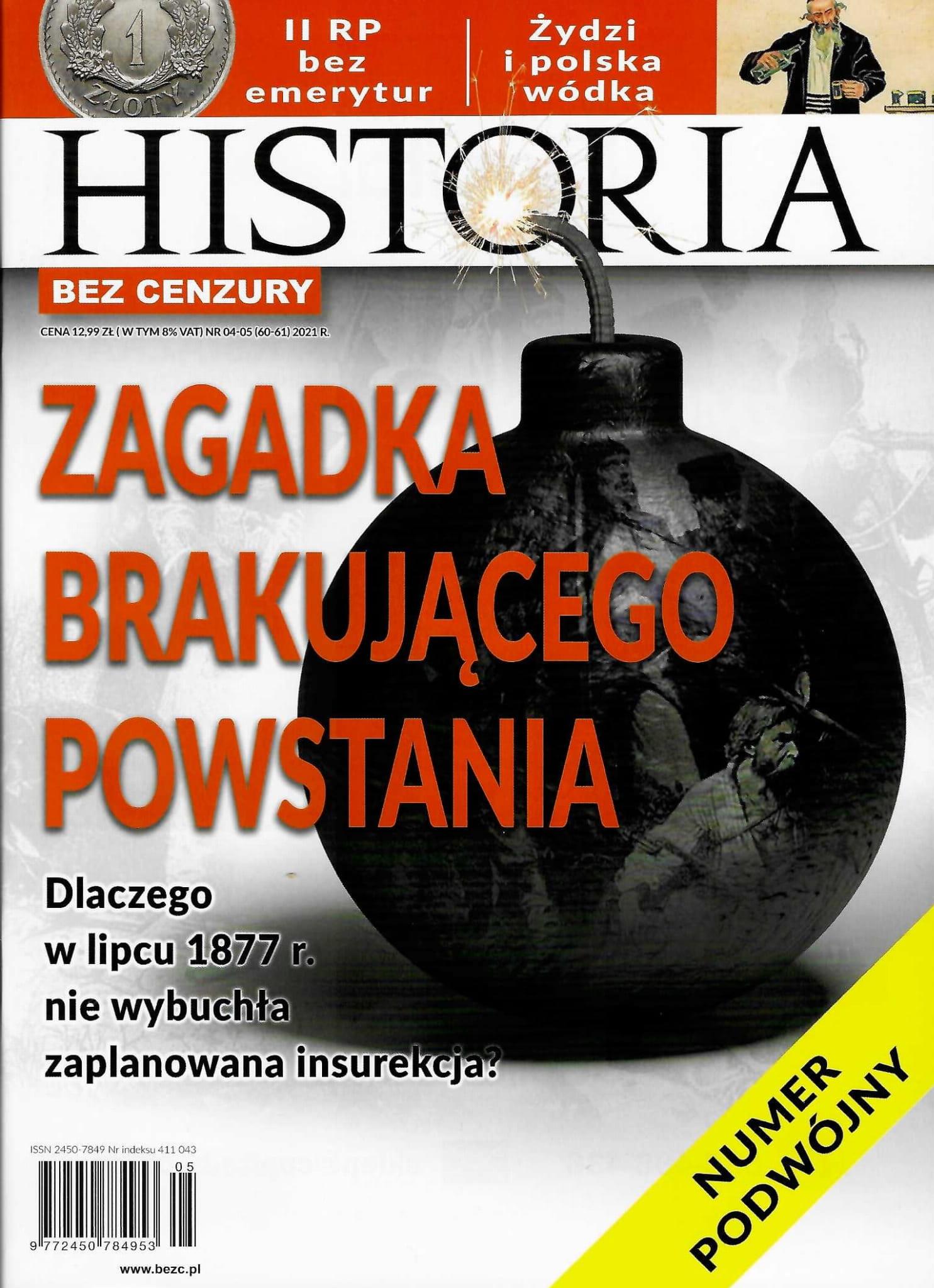 Image of Historia bez cenzury nr 04-05 (60-61) 2021 r.