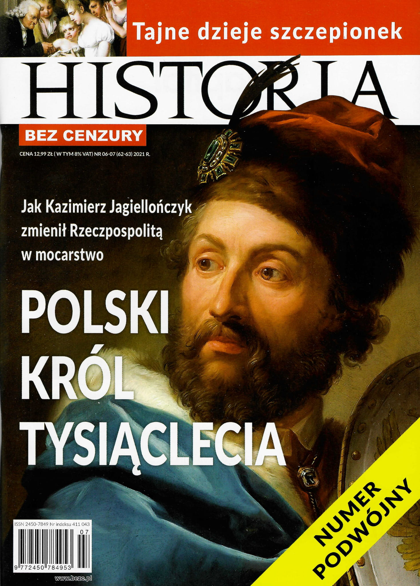Image of Historia bez cenzury nr 06-07 (62-63) 2021 r.