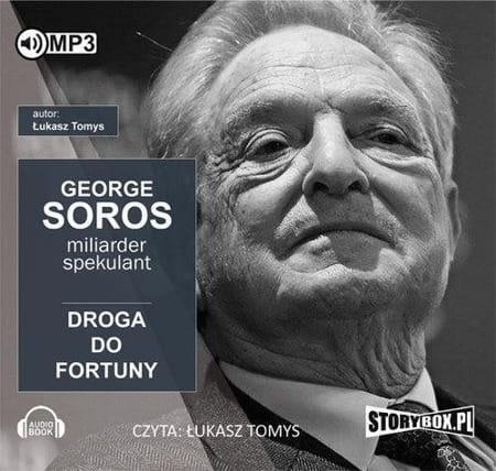 Image of [AUDIOBOOK CD] George Soros. Spekulant i miliarder. Audiobook - Łukasz Tomys
