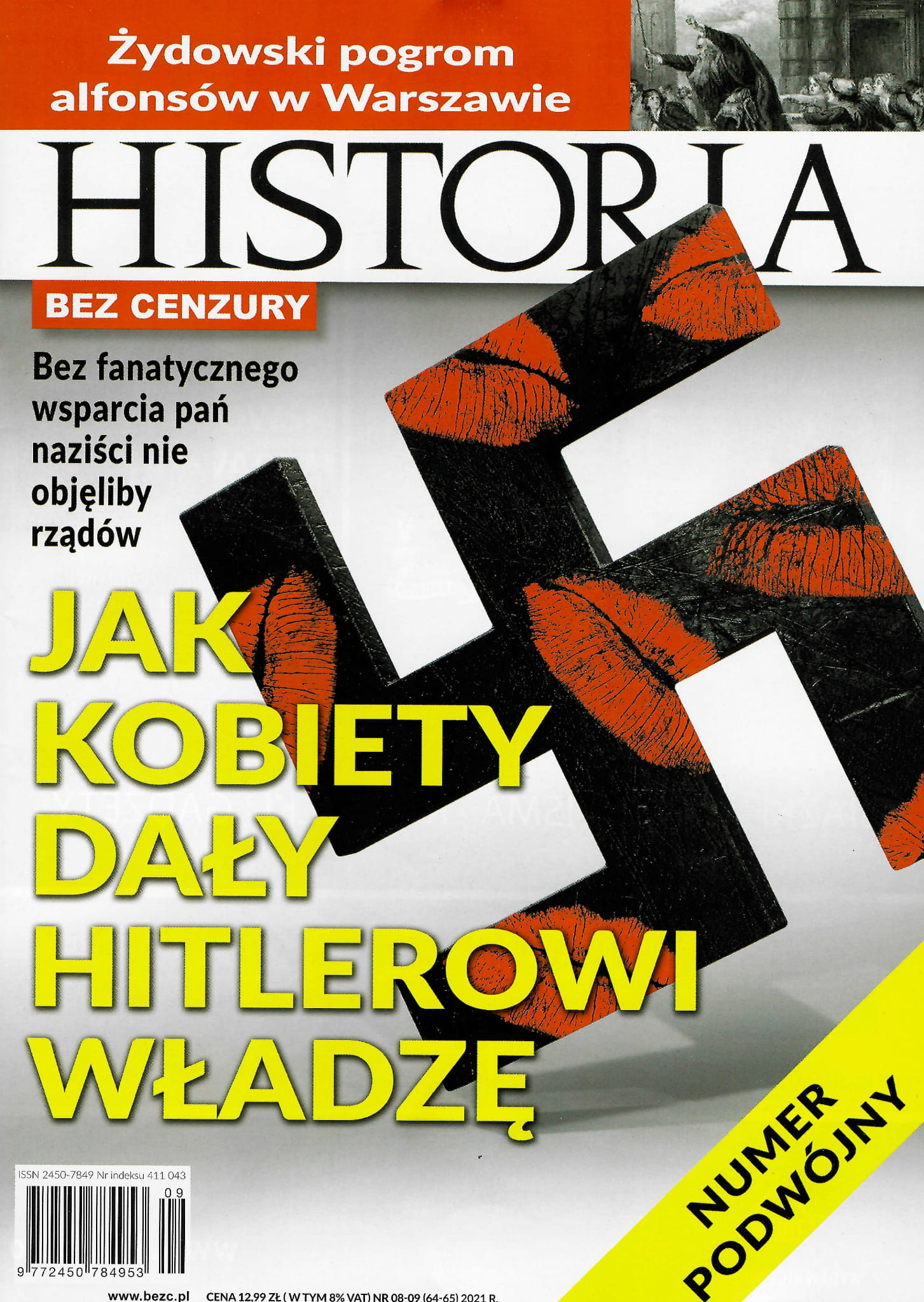 Image of Historia bez cenzury nr 08-09 (64-65) 2021 r.