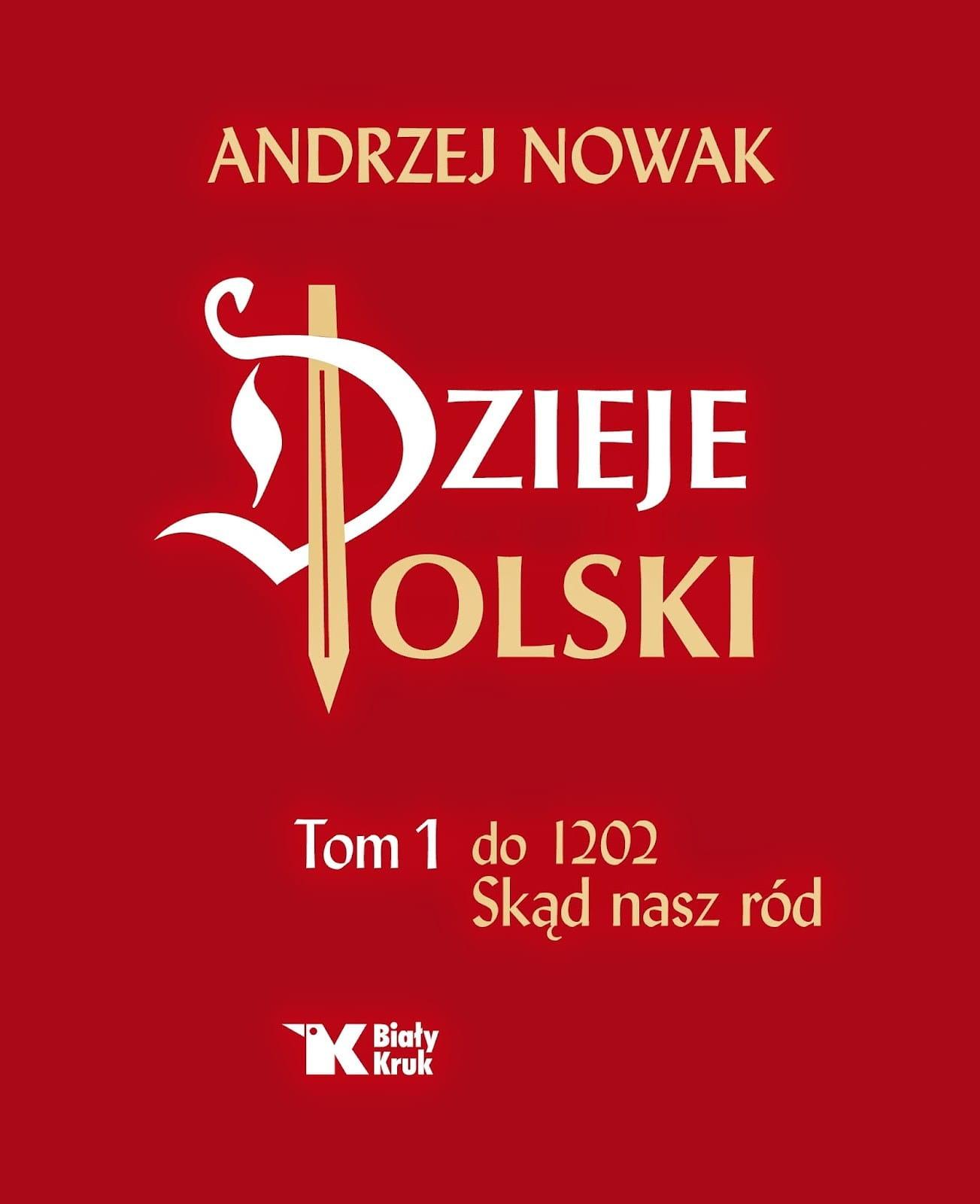 Image of Dzieje Polski, t. 1 - do 1202. Skąd nasz ród - Andrzej Nowak