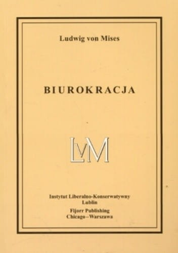 Image of Biurokracja - Ludwig von Mises